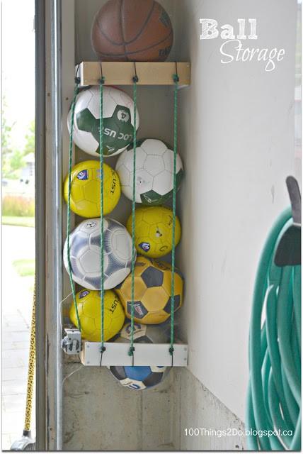 kids' outdoor toy storage