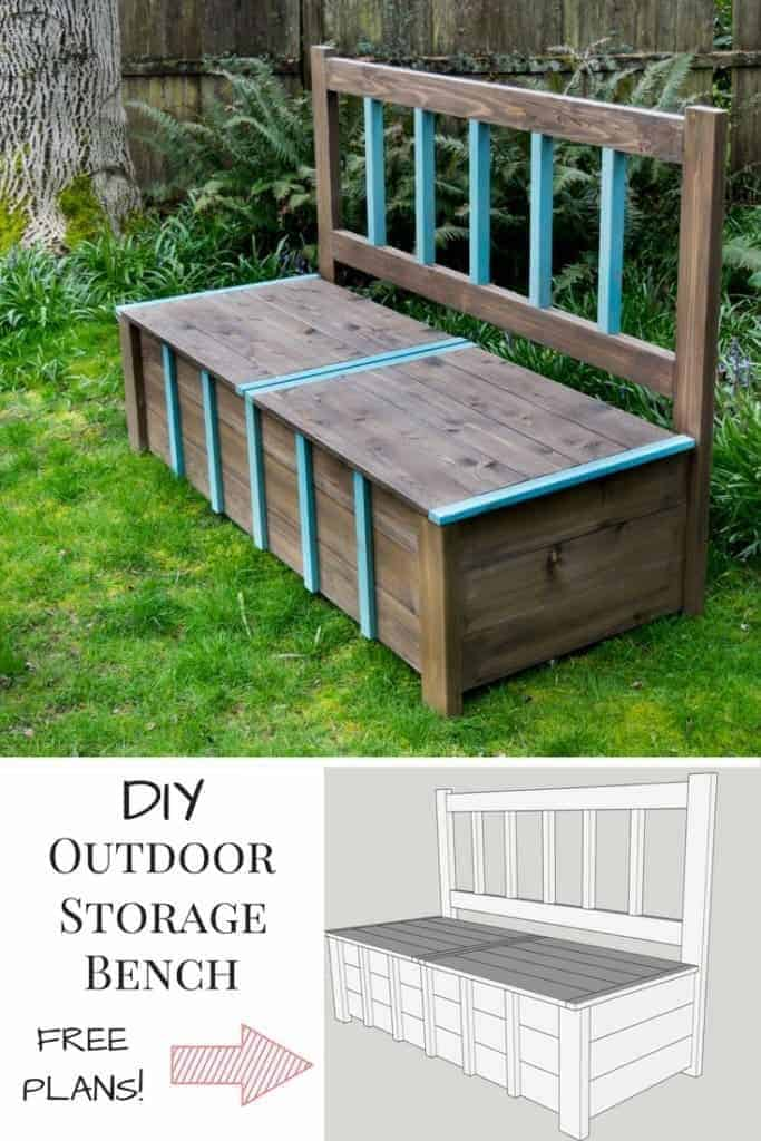 25 Outdoor Toy Storage Ideas For Effortless Organization In 2021