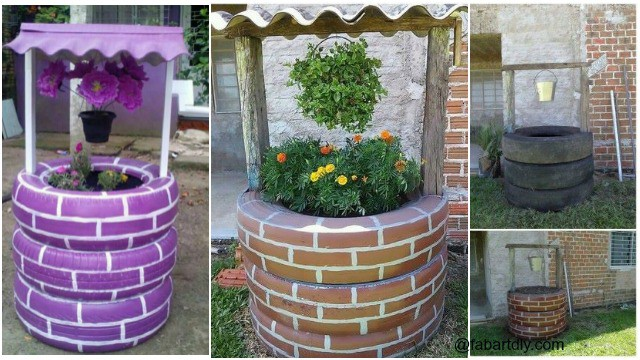 25 Inspiring Tire Planter Ideas to Add to Your Outdoor ...