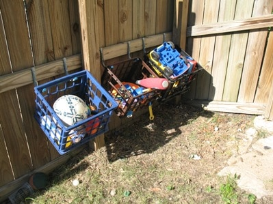 Mandi At Life Your Way Shares Several Ideas On How To Get More Organized With Outdoor Toys It Is Incredible Much Better Feels Once Everything