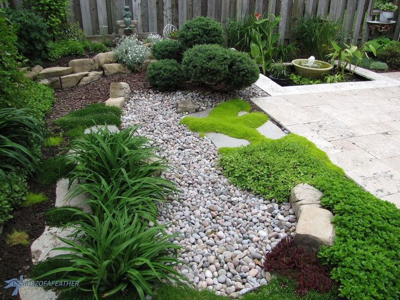 25 Inspiring Dry River Bed Landscaping Ideas in 2020 | Own ...