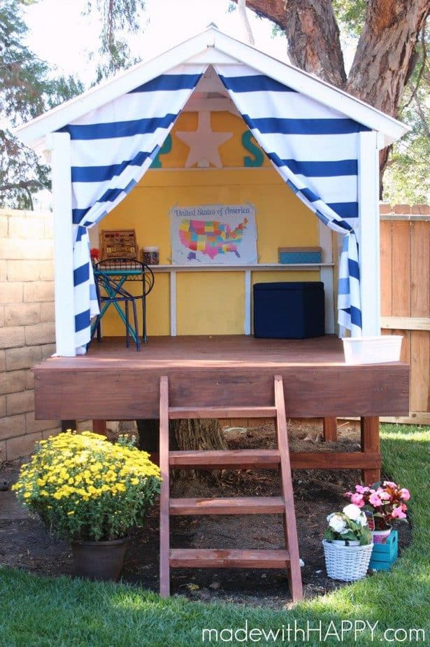 25 Awesome Treehouse Ideas That Your Kids Will ! on backyard guest house designs, backyard tree lighting, top 10 beautiful backyard designs, backyard tree landscaping, backyard fountain designs, backyard beach designs, backyard cottage designs, backyard river designs, backyard topiary designs, backyard pagoda designs, backyard small house designs, backyard swimming designs, backyard furniture designs, backyard fort designs, backyard tree art, backyard sandbox designs, backyard dog house designs, backyard concrete patio designs, backyard workbench designs, backyard tree forts,
