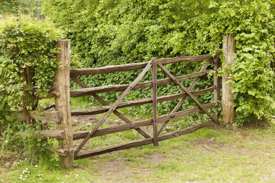 25 Unique Fence Gate Ideas for 2020   Own The Yard on traditional backyard ideas, vacation backyard ideas, craftsman backyard ideas, cabin backyard ideas, cape cod backyard ideas, duplex backyard ideas, english backyard ideas, custom backyard ideas, barbecue backyard ideas, oriental backyard ideas, mission backyard ideas, industrial backyard ideas, cowboy backyard ideas, farmhouse backyard ideas, townhouse backyard ideas, barn backyard ideas, french backyard ideas, forest backyard ideas, waterfront backyard ideas,