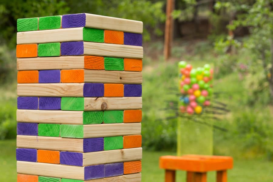 Best Giant Jenga Set Games In 2019 For Your Garden Or