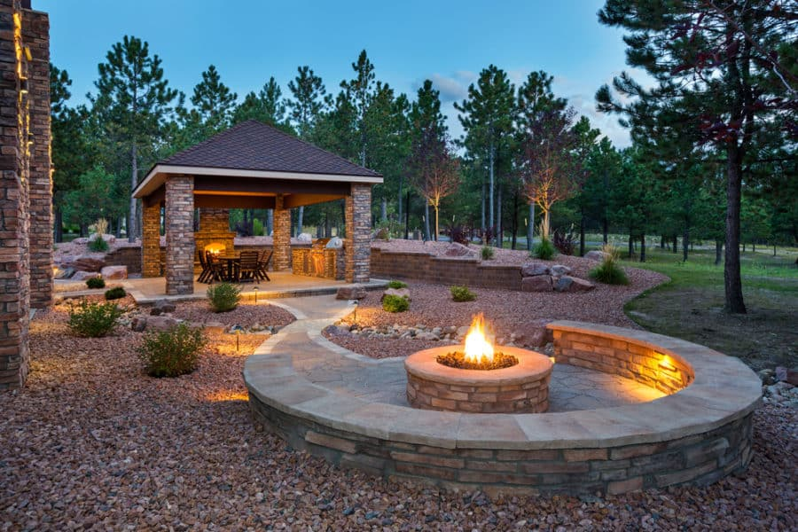 21 Great Outside Fire Pits Ideas For Your Backyard In 2021