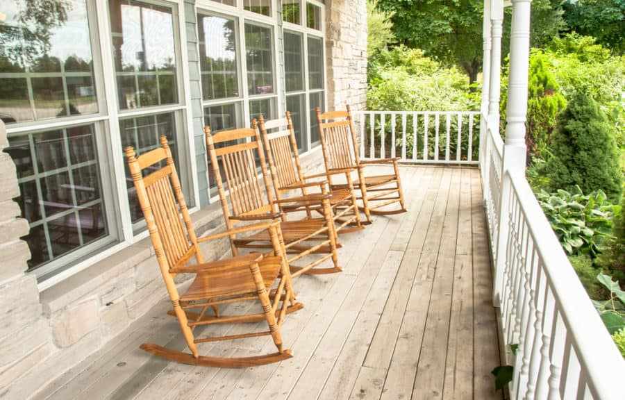 Astonishing 45 Front Porch Ideas Designed Decorated And With Images Bralicious Painted Fabric Chair Ideas Braliciousco