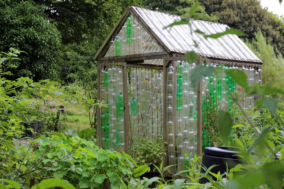 Greenhouse Ideas for Year Round Gardening in 2019: Own The Yard on bottle house plans, bottle bird feeder plans, straw bale dog house plans, plastic bottle boat building plans, bottle gardening, bottle flower plans, bottle hydroponics,
