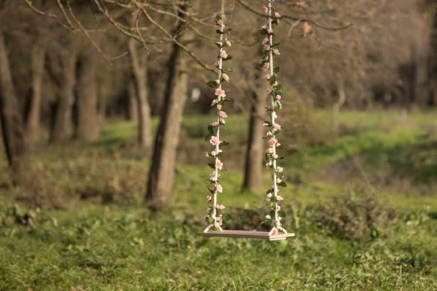 diy tree swing ideas