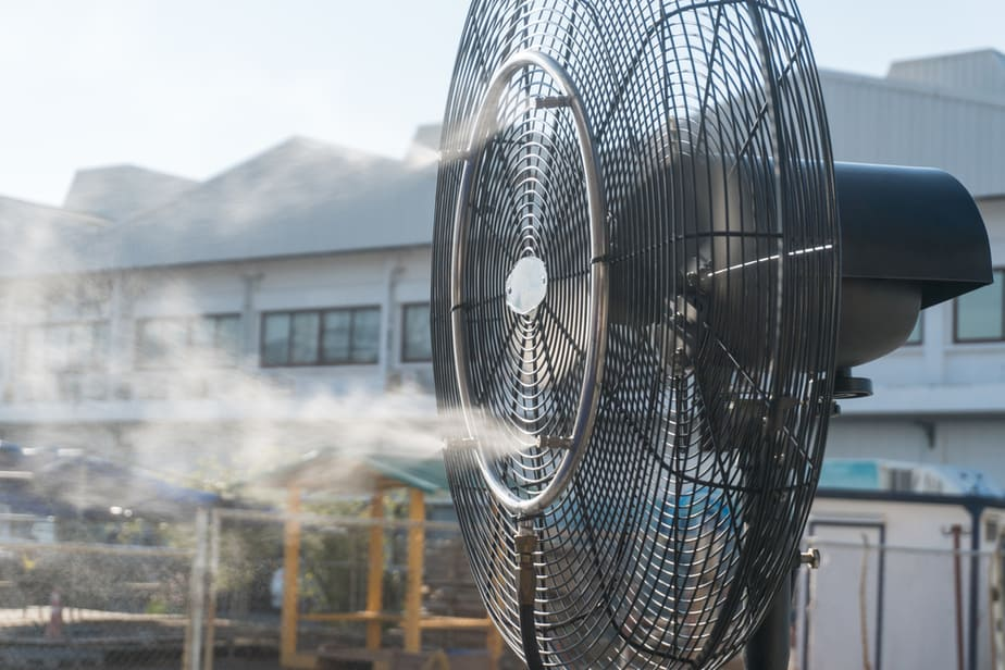 The Best Outdoor Misting Fan For Hot