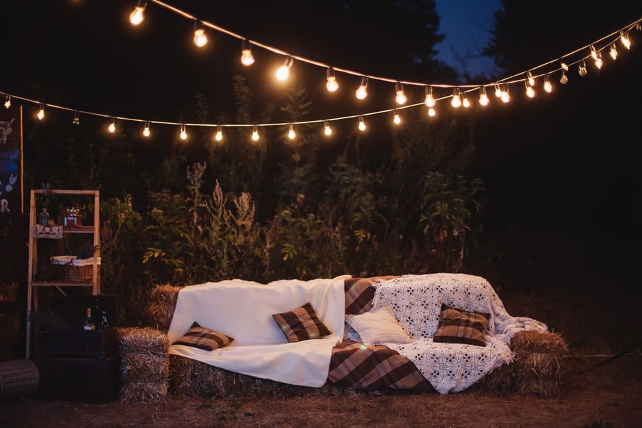 How To Hang String Lights In Your Backyard Without Trees 2021