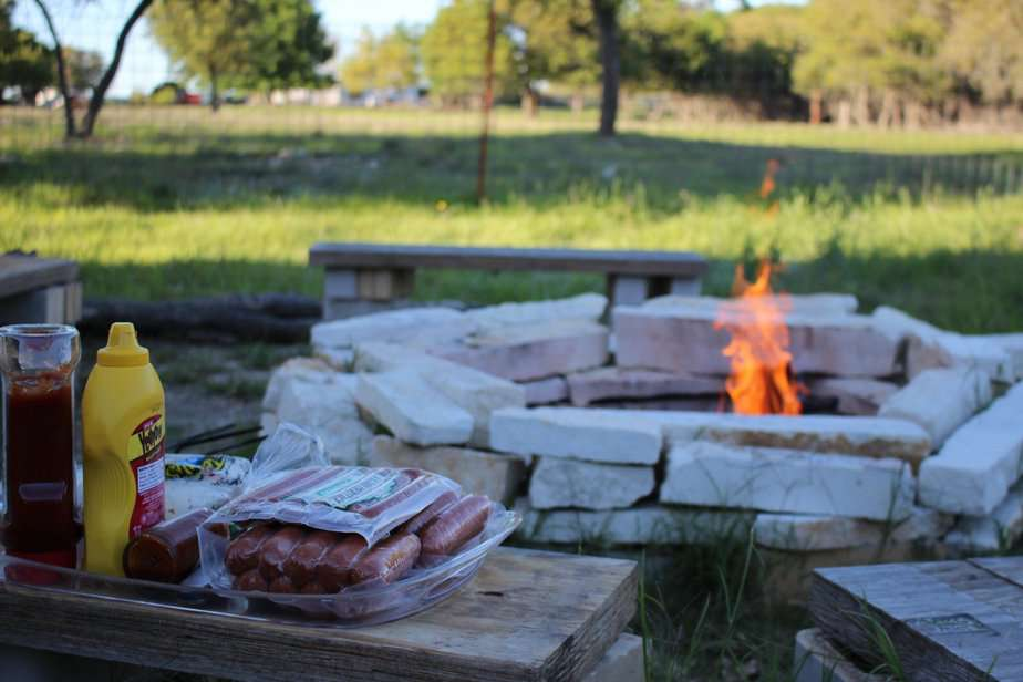 What To Put Under A Fire Pit On Grass For Safety And Design 2021
